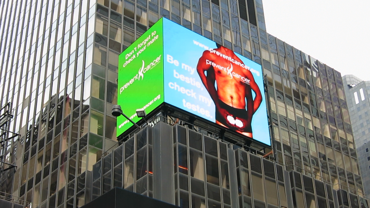 "Time Square ""CYM"" Digital Billboard"