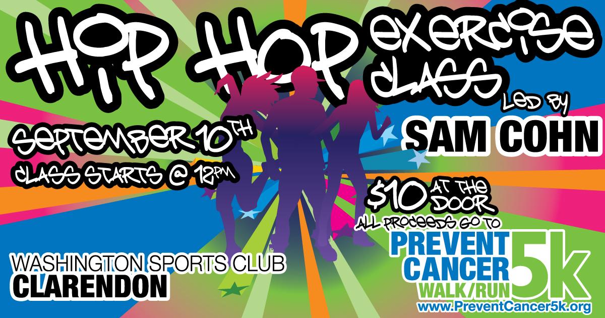HIP HOP Exercise Class Fundraiser
