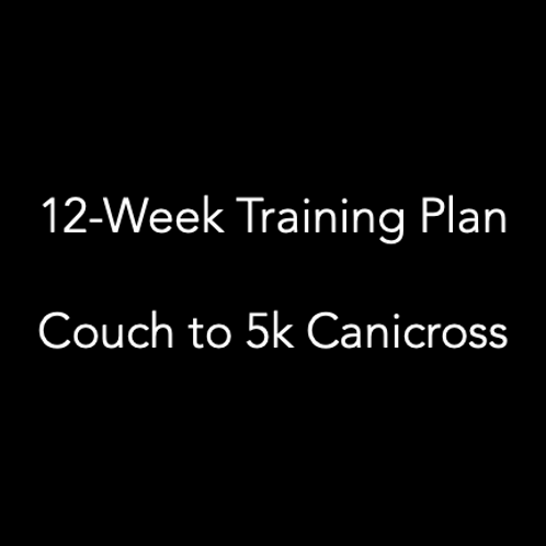12-Week Training Plan: Couch to Canicross 5k