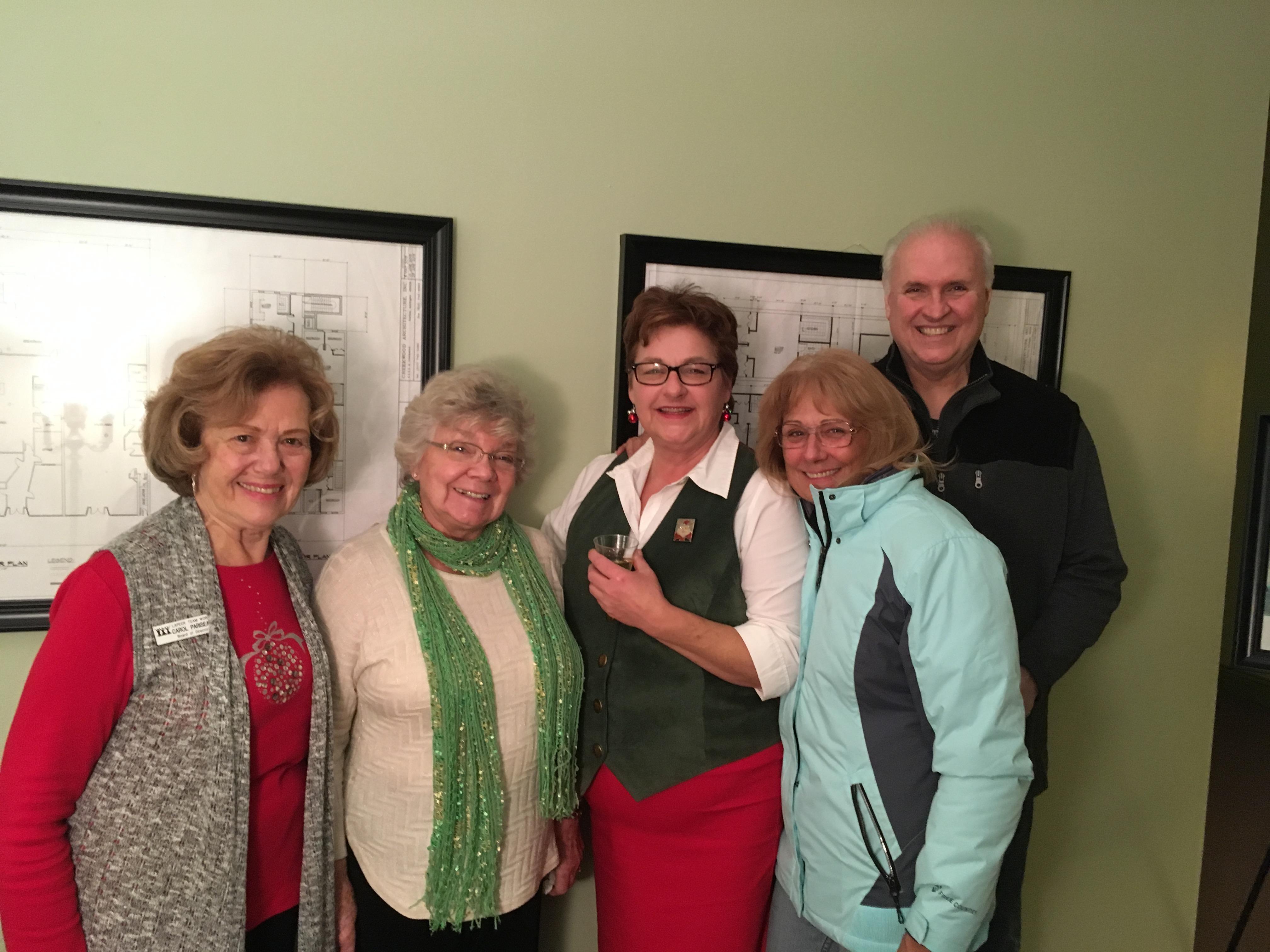 Ann and Board Members