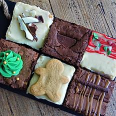 Box of Festive Brownies