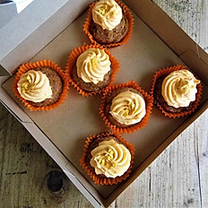 Box of 6 Carrot Cakes