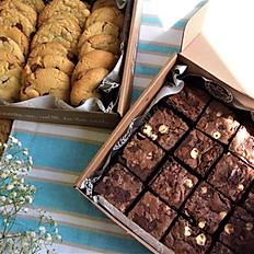 Box of Cookies and Brownies
