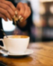 Sweetening Coffee