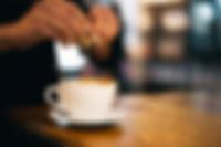 コーヒーを甘味
