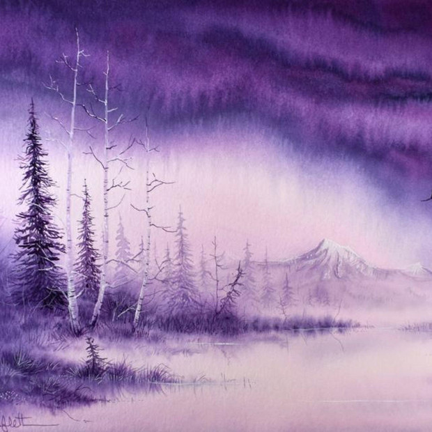 """Raining Purple"""