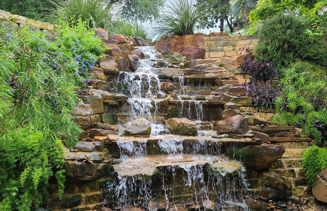 Waterfall in Spicewood