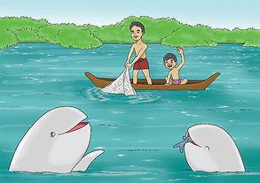 メコンの川イルカ
