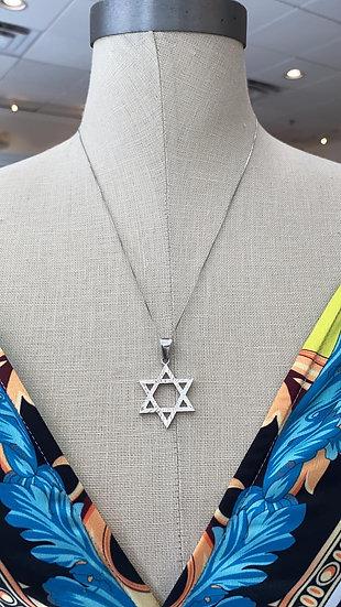 Silver Necklace 13