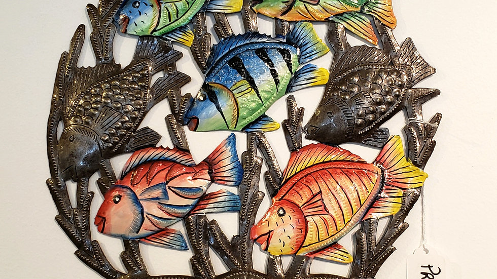 Fishes together