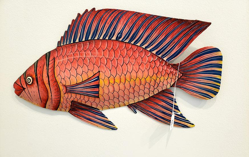 Haitian Drum Art - Big Fish 3