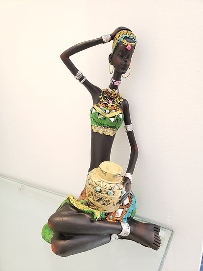 African Lady 3