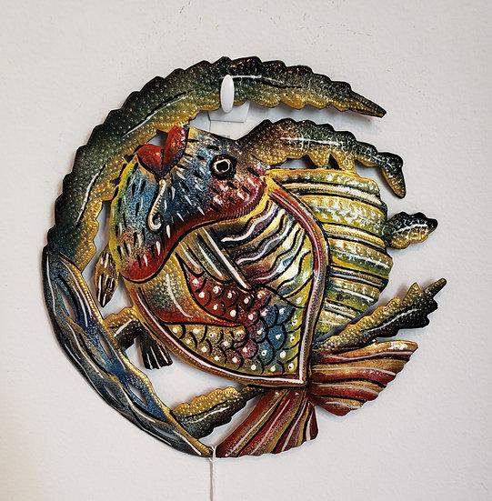 Haitian Drum Art - Fancy Fish 1