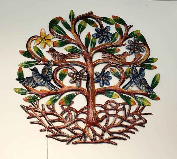 Medium tree with birds