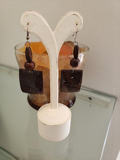 Coconut Earrings 1