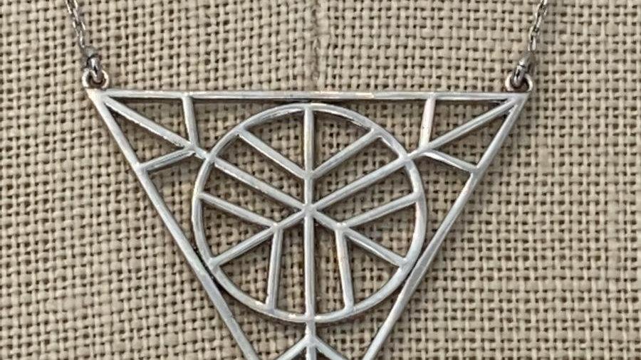 Silver Necklace 14