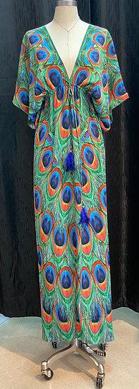 Long Peacock Robe