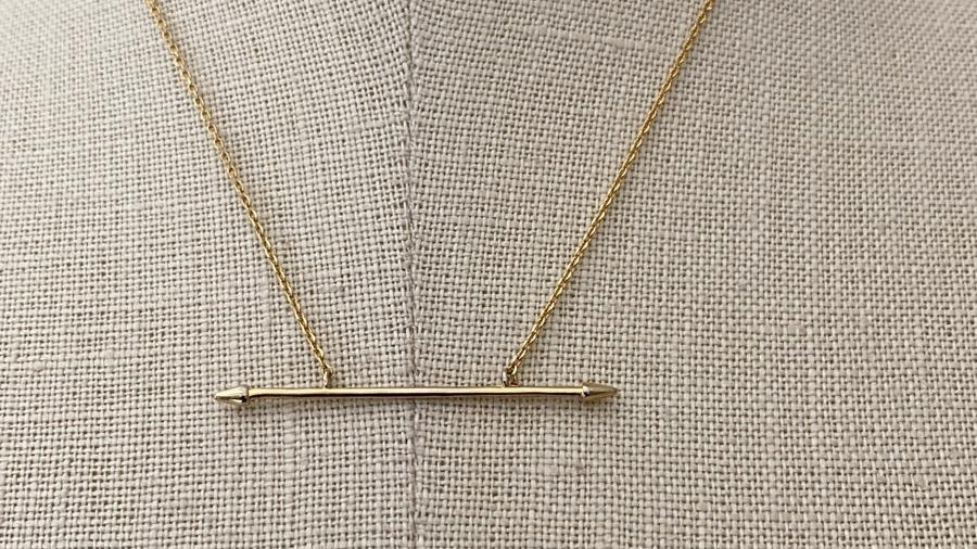 Gold Necklace 4
