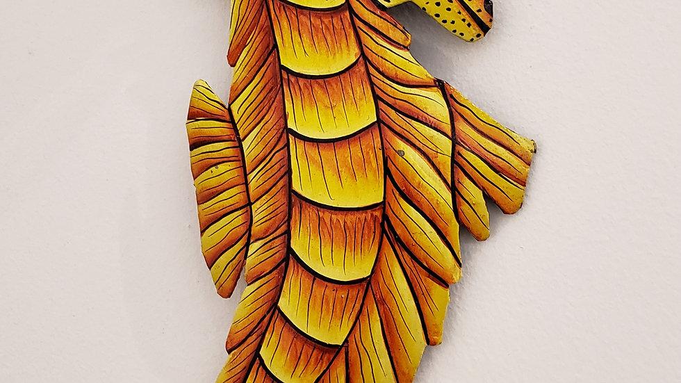 Yellow Sea Horse Alone