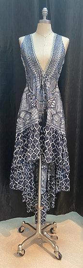 Black Nomad Hi-Low Dress