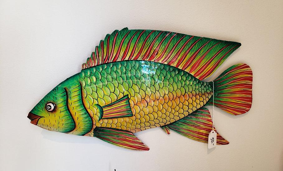 Haitian Drum Art - Big Fish 4