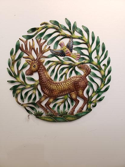 Haitian Drum Art - Deer