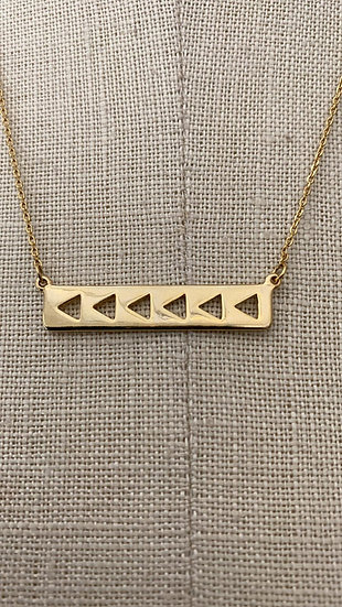 Gold Necklace 1