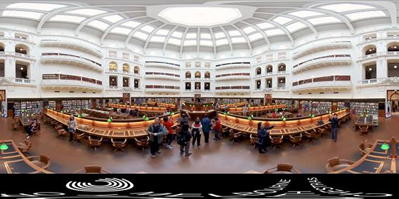 360 State Library Performance | Melbourne Youth Orchestras