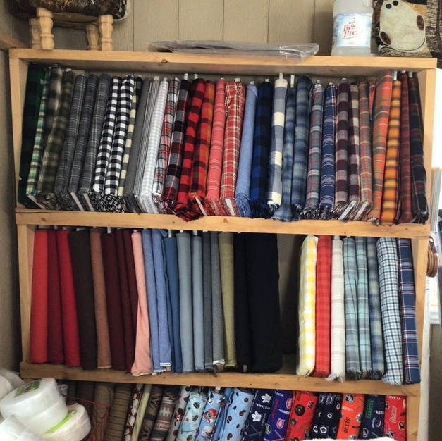 Flannel Wall Cupboard