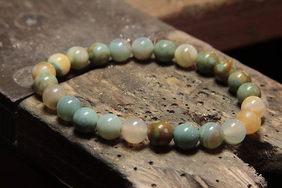 Bracelet Agate de Rêve
