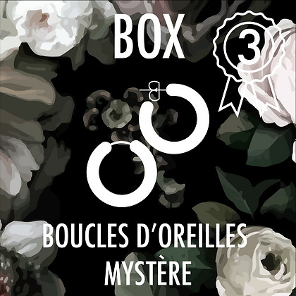 Box Boucles d'Oreilles standard