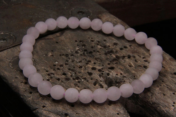 Bracelet Quartz rose mate