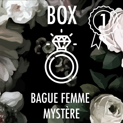 Box Bague Femme Premium