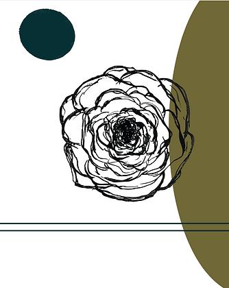 Illustratie free flower