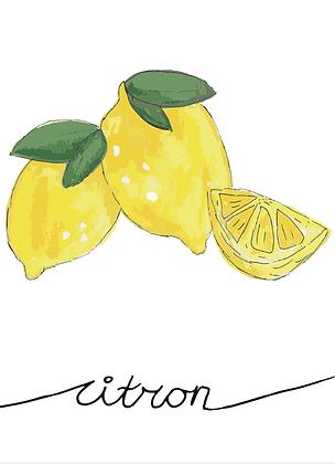 Illustratie citron