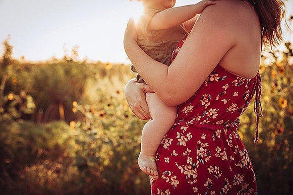 She didn't want to leave her mama's arms
