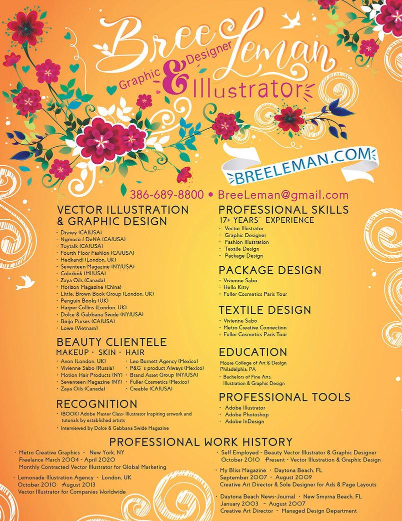 Bree Leman Vector Illustrator Designer.j