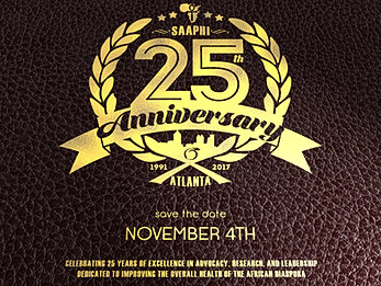 SAAPHI 25th Anniversary & Annual Meeting