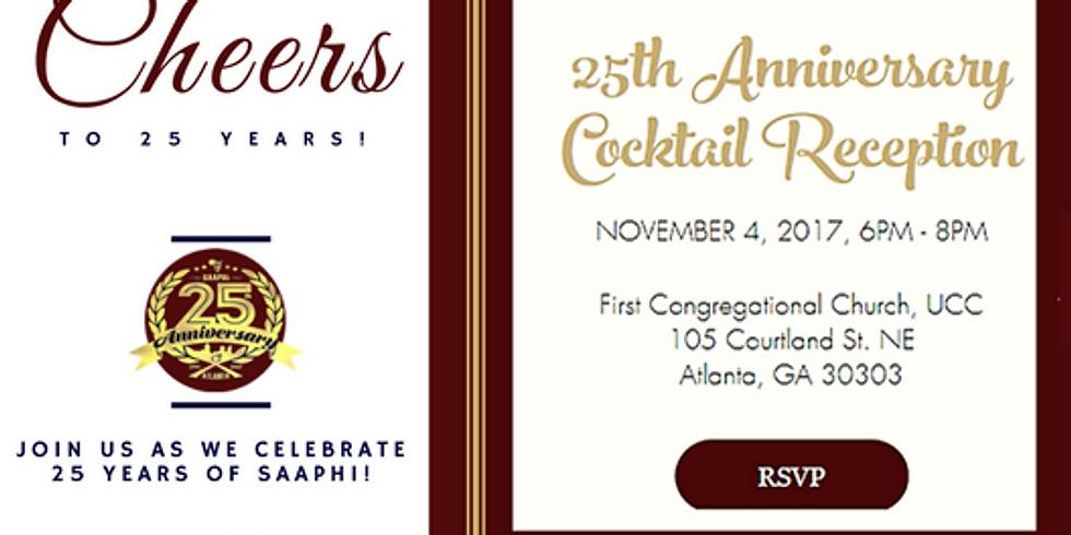 SAAPHI 25th Anniversary Reception
