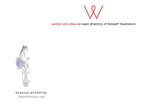Women Who Draw Directory