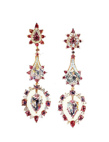 earrings by Hanut Singh