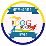 Knowing Dogs Level 1 Badge.png