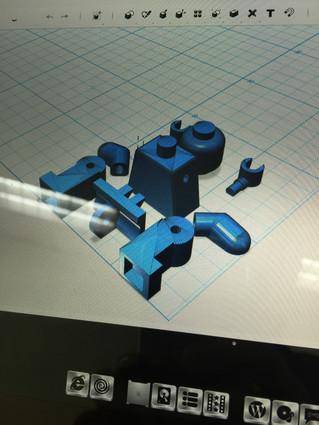 3D프린터 활용...