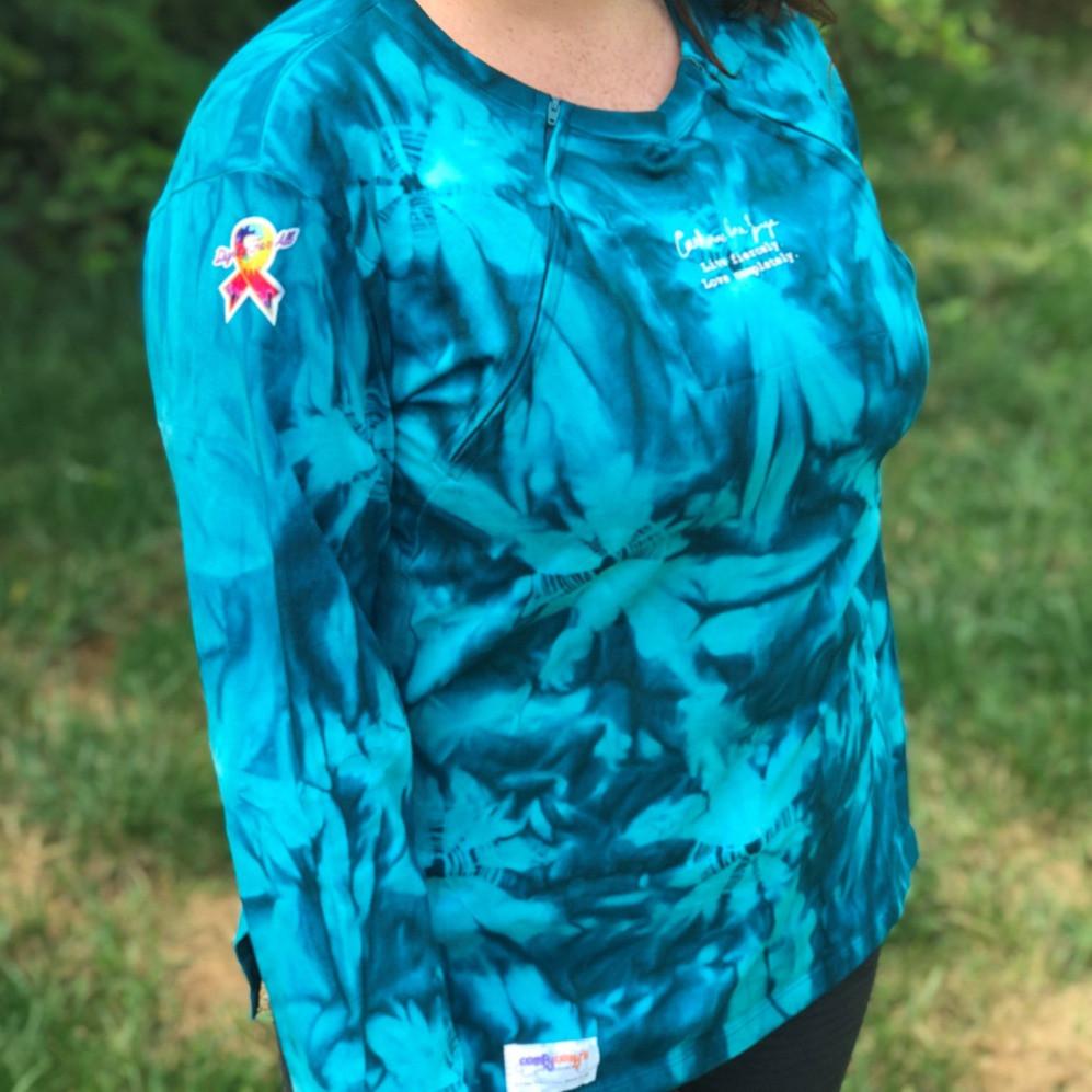 Teal Diva Chemo Shirt