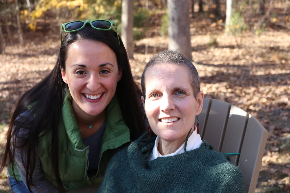 Ruth Samuelson and daughter, Joy