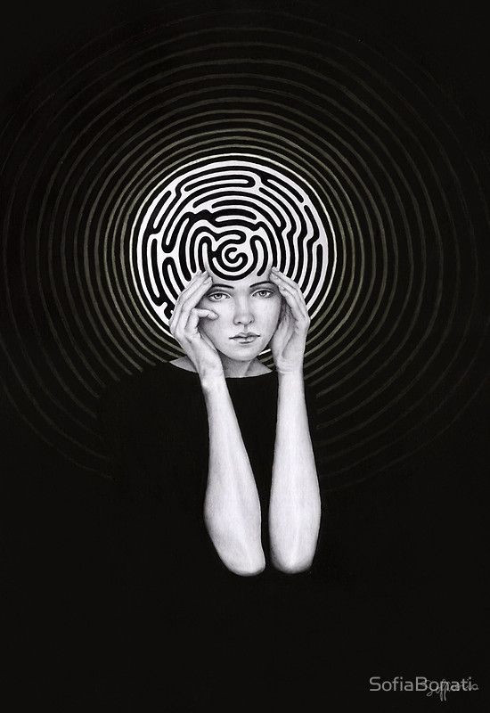 The Labyrinth of the mind.