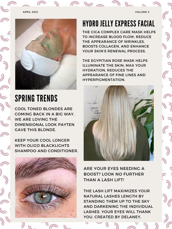 April Newsletter 2
