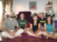 Studens of Arte de Yoga