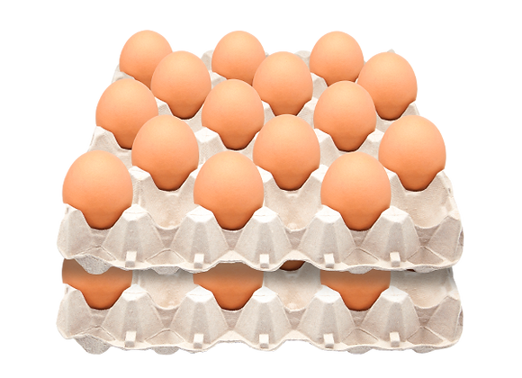 Huevos Gigante Color (Súper) Nro. 0 x 30