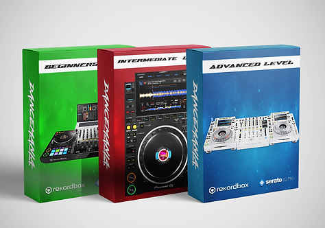 DJ COURSE - PACKAGE 3 // 15 LESSONS